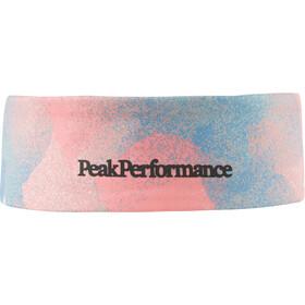 Peak Performance Trail Print Slim Headband pattern